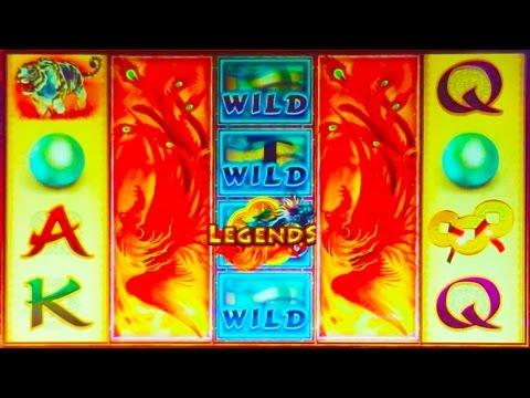 Legends of Fire and Water Slot Machine
