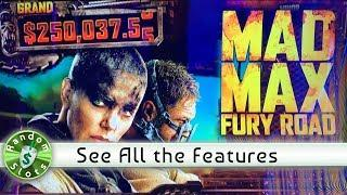 •️ New - MAD MAX Fury Road slot machine, Features & Bonuses (G2E 2019)