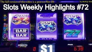 Slots Weekly Highlights #72 For you who are busy• San Manuel Casino