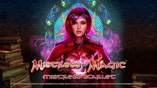 Mistress of Magic   Mistress Scarlet Slot Game•