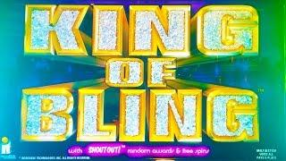 King of Bling slot machine (Turn Up the Sound), Live Play, Nice Win