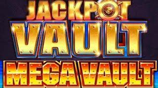 • MEGA VAULT VS. JACKPOT VAULT • HUGE WINS • MAX BET! • BONUS! •