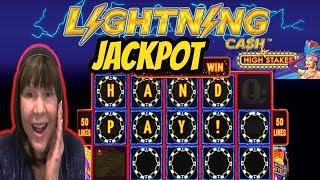 HANDPAY JACKPOT! HIGH LIMIT-HIGH STAKES-LIGHTNNG CASH