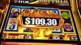 Fast Cash Deluxe Buffalo Big Win