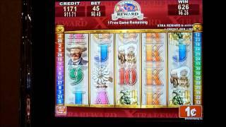 Rawhide Xtra Reward Slot Machine Bonus Win (queenslots)