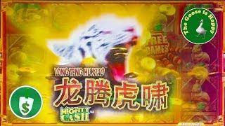 • Long Teng Hu Xiao Might Cash slot machine, Bonus, Big Win