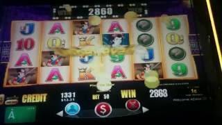 Slot Machine Line Hit Compilation #1 - Buffalo, China Shores, Samurai's Honor, Gaucho's Gold