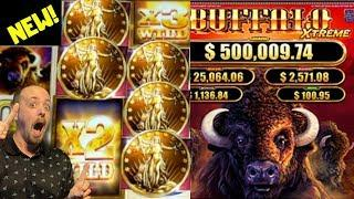 NEW• •BUFFALO XTREME• Live play | Free Spins• will we Get a BIG WIN•