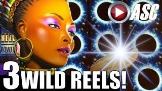 •BIG WIN!• SHAMAN'S MAGIC (Aristocrat) 3 WILD REELS! | w/ WILD 70s (Everi) Slot Machine Bonus