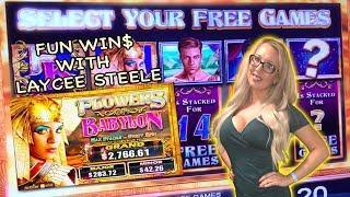 •Free Games Fun with Laycee Steele • Flowers of Babylon | Slot Ladies