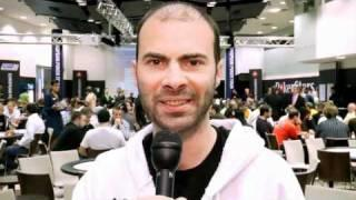 EPT Tallinn 2010 Day 2 Intro with Arnaud Mattern - PokerStars.com