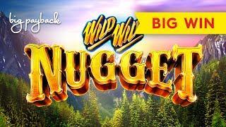 Wild Wild Nugget Slot - BIG WIN BONUS!