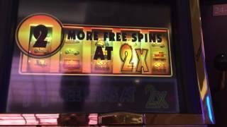 Monopoly Party Train slot machine free spins bonus