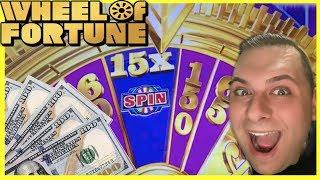 • WHEEL of FORTUNE • GOLD SPIN • $10 BETS