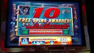 HIGH LIMIT WMS Madame X $15 Bet Free spin bonus slot machine
