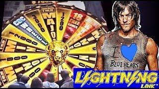 •WHEEL OF WINS!• SUPER BIG WIN on The Walking Dead, BUFFALO GOLD and MORE WINS!