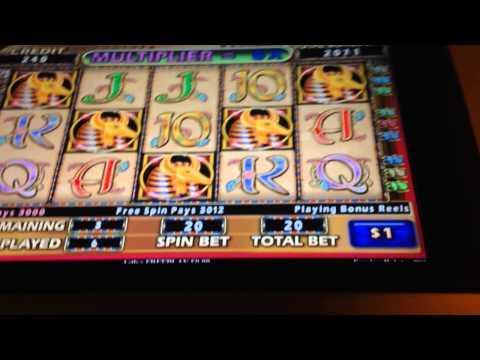 Cleopatra 2 BIG HANDPAY jackpot high limit slots bonus win