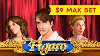 SHORT & SWEET! Figaro Slot - $9 Max Bet!