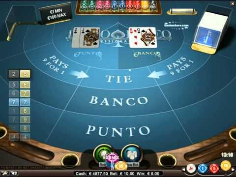 Punto Banco - The Virtual Games