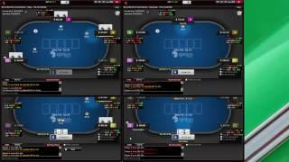 50NL Cash Game Poker 4 Tables Bovada/Ignition Episode 10 6max