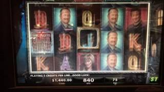 Black Widow Bonus Round at $75 spin JACKPOT!!!