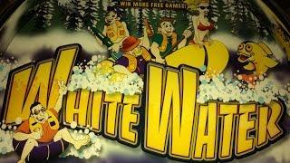 TBT - White Water Slot Machine - Aristocrat - Bonus with Retriggers! Over 100X!