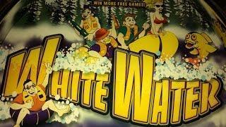 TBT - White Water Slot Machine - Aristocrat - Bonus with Retriggers! Over 100X!