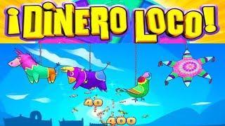 Dinero Loco Slot - BIG WIN SESSION - All Features!