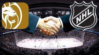 NHL & MGM Reach Sports Betting Deal