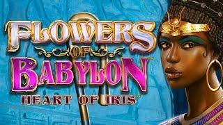 Flowers of Babylon - live play w/ nice bonus - Slot Machine Bonus