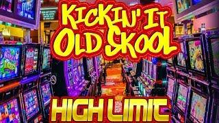 HIGH LIMIT • KICKING IT OLD SCHOOL • HUGE WINS • WMS CLASSICS with EZ Life Slot Jackpots