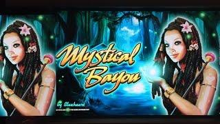 MYSTICAL BAYOU slot machine bonus BIG WINS!