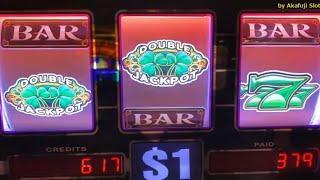 SHAMROCK - 9 Lines $1 Slot & BLACK & WHITE 7 $25 Slot - Great Profit @ Barona & San Manuel Casino