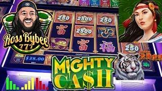 HIT AND RUN•6 HIGH LIMIT Mighty Cash Max Bet Bonuses & Hold and Spin Feature