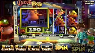 Free Under the Bed Slot by BetSoft Video Preview | HEX