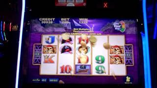 Captain Cutthroat slot machine line hit at Parx Casino.