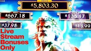 Wicked Winnings 2 | Ultimate Fire Link | ZEUS | WORLD OF WONKA | AMERICAN BISON Slot Machine BONUSES