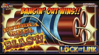 Eureka Reel Blast Slot LIVE PLAY Bonus WINS!