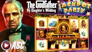 •JACKPOT PARTY CASINO FRIDAY• THE GODFATHER: MY DAUGHTER'S WEDDING (SG/WMS) •NEW SLOT GAME REVIEW!•