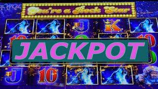 ⋆ Slots ⋆I DID IT ! JACKPOT ON FREE PLAY !!⋆ Slots ⋆TIMBER WOLF DELUXE Slot $5.00 Bet⋆ Slots ⋆$300 F