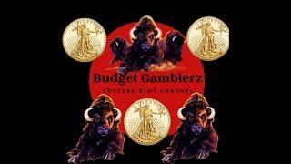 BUFFALO GOLD ~ Free Spin Bonus ~ 200x BIG WIN!!! ~ Live Slot Play @ San Manuel