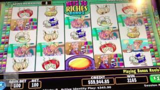 Over Six Thousand Dollars Jackpot! | Stinkin' Rich Game | The Cosmopolitan