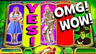 MASSIVE WIN!!! I CLEARED THE WITCH BONUS on 'RUBY SLIPPERS'! • MAX BET!! • BRENT SLOTS