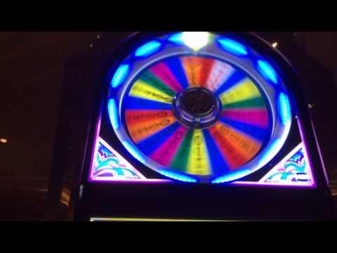 Wheel of Fortune $20 BET bonus spin feature high limit slots