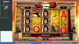 Cleopatra Last Of The Pharaohs - Big Win