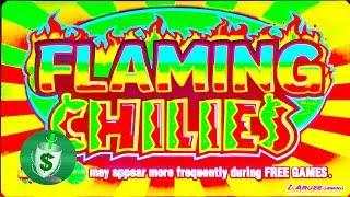 ++NEW  Flaming Chilie's slot machine