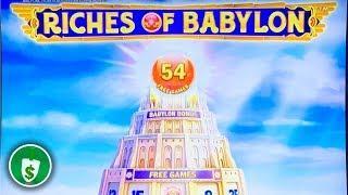 Riches of Babylon slot machine, bonus