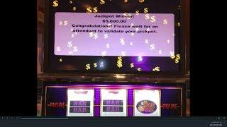 $100 Mr. Money Bags  JACKPOTS & $25 MONEY BAGS JB Elah Slot Channel Choctaw Casino, Durant BOOM