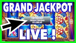 GRAND JACKPOT AS IT HAPPENS on Eureka Reel Blast Lock it Link !