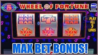 ★ Slots ★ WHEEL OF FORTUNE HIGH LIMIT $25 SPINS ONLY ★ Slots ★Lock It Link Piggy Bankin' Slot Machin
